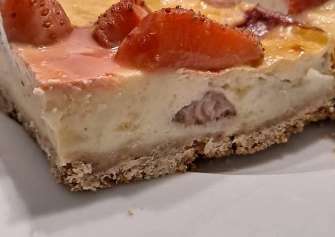 Cheesecake à la fraise 🍓