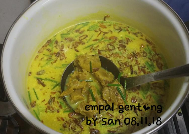Cara Memasak Empal Gentong (08.11.18) yang enak
