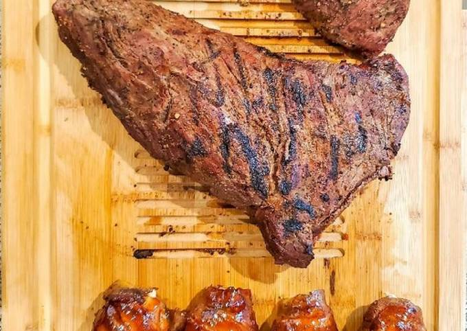 How To Make Grilled Tri-tip Super Fast