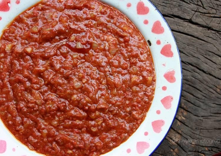 Saus Bolognese Homemade (pizza/spageti)
