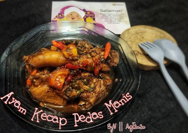 Ayam Kecap Pedas Manis #Week10