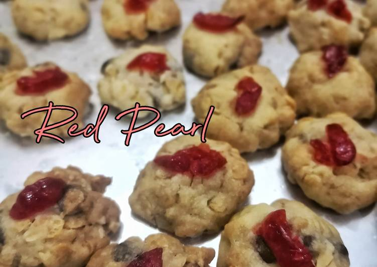 Biskut Red Pearl - resepipouler.com