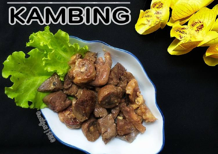 Sate Goreng Kambing Simple