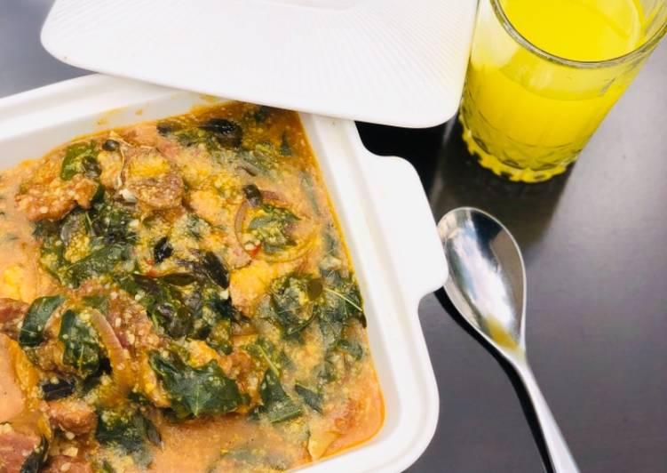 Steps to Make Favorite Braised maize porridge