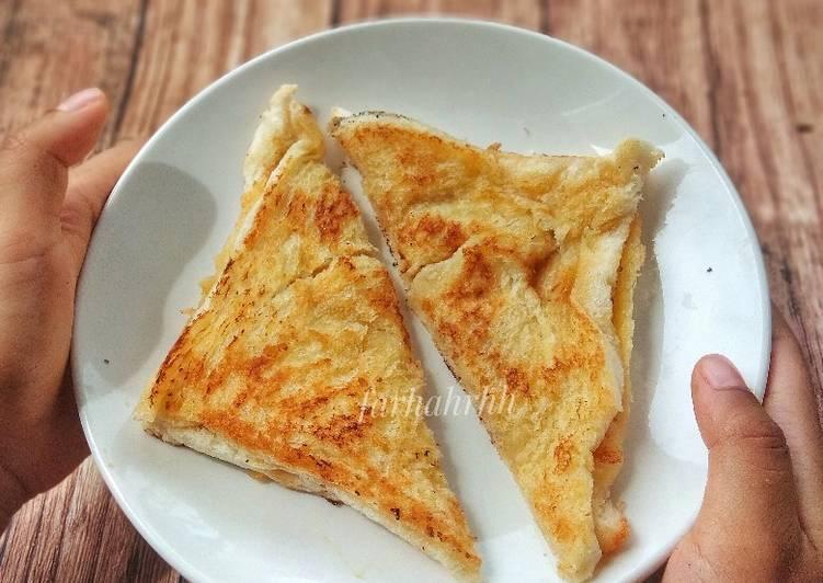 Roti Keju Mozzarella Praktis