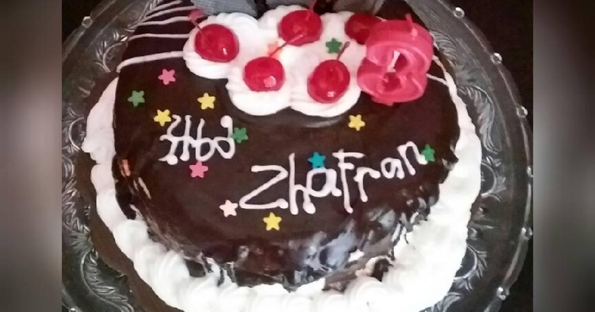 Base Cake Ultah Brownies Kukus