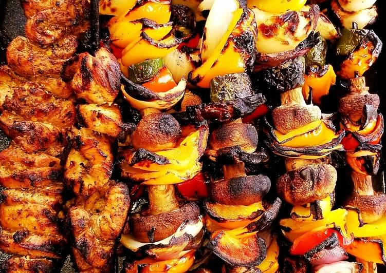 Mike's Chicken Shish Kabobs