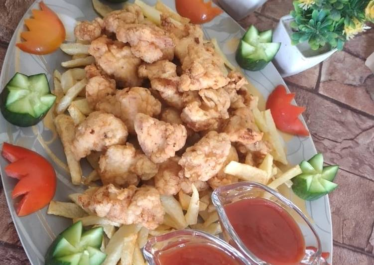 How to Prepare Tasty Chicken Popcorn