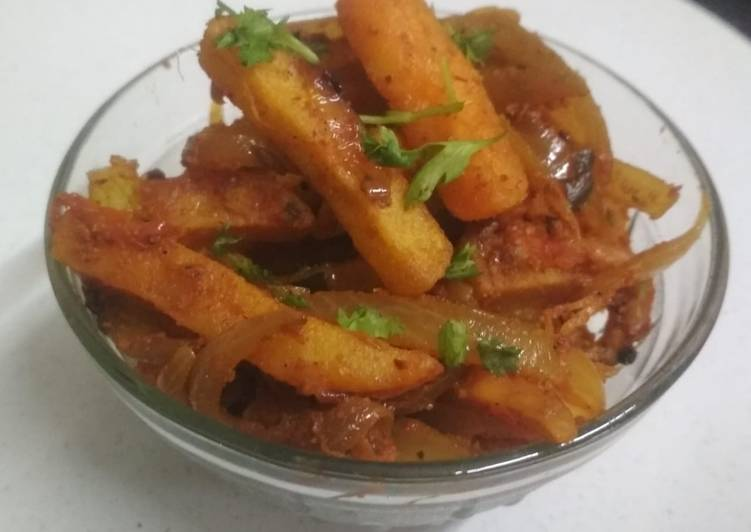 Easy Guide to Make Perfect French fries sabji