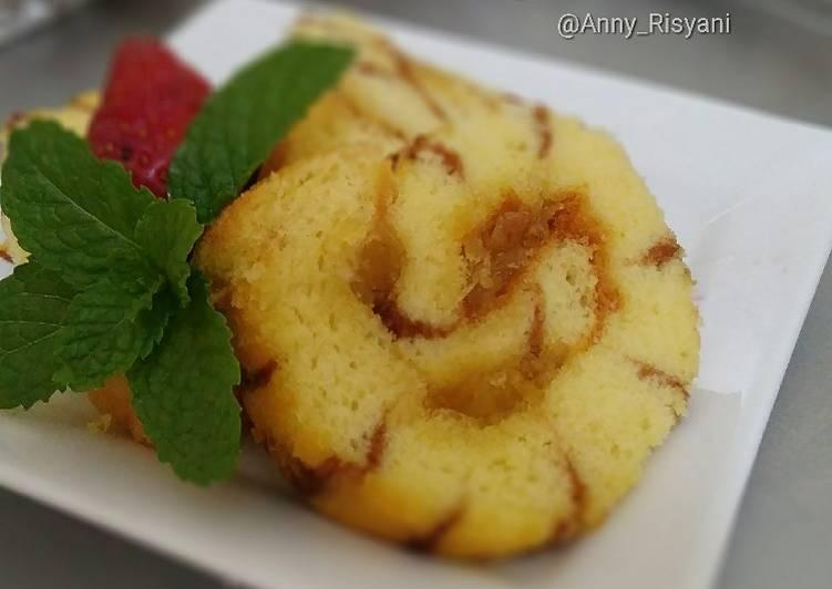 Bolu gulung nanas