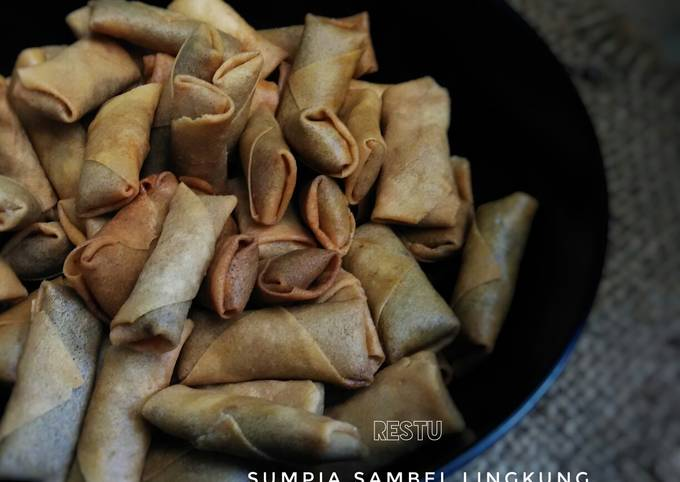 Sumpia Abon Ikan Sambel Lingkung