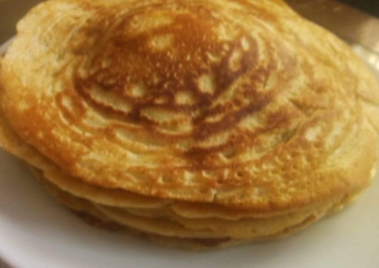 Recipe of Perfect Butter milk pancakes#Ramadhancontest