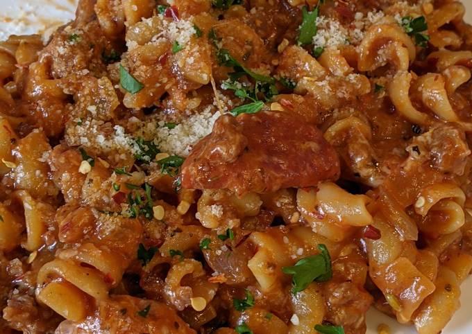 Meat lovers pizza pasta instant pot ip