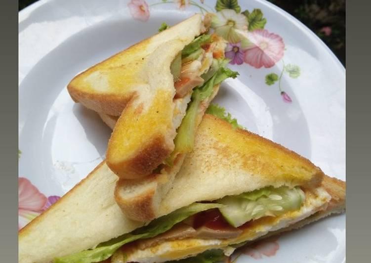 Sandwich Telur Simpel
