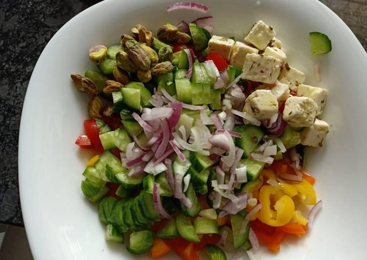Easiest Way to Make Homemade Salad [keto]