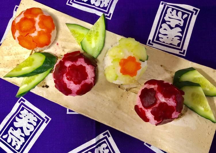 Japanese Vegetable Ball Sushi