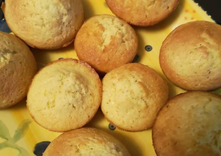 Muffin recette madeleine 😋