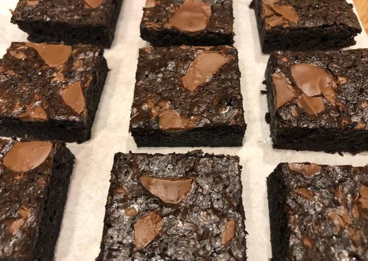 Cocoa Fudge Brownies
