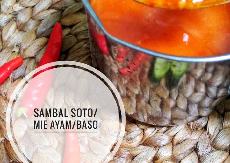 Sambal Soto/ Mie Ayam/ Bakso