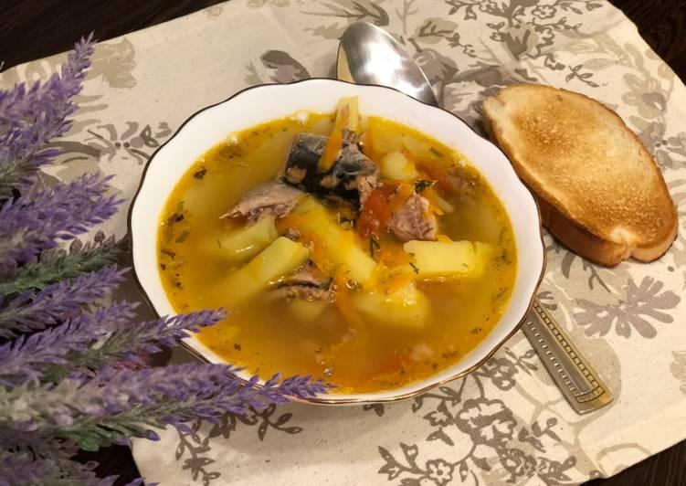как приготовить сайровый суп