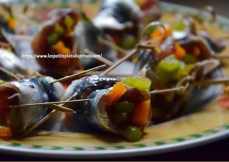 Tapas de sardines farcies au poivron