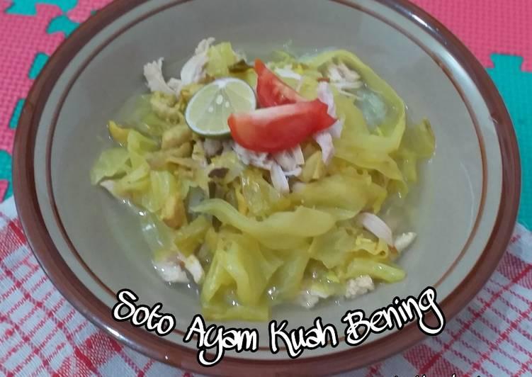 Soto Ayam Kuah Bening (Tanpa Santan)