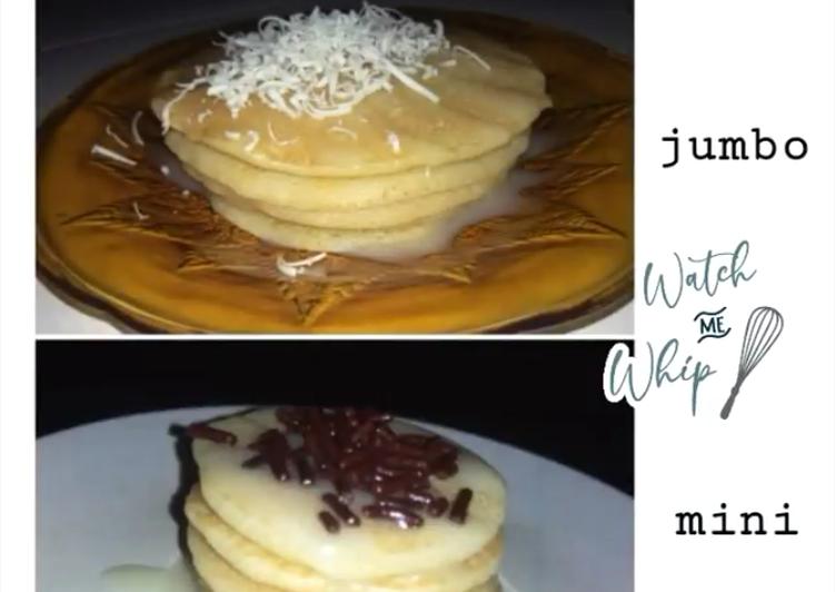 Pancake lembut tanpa baking sodaa 🍴