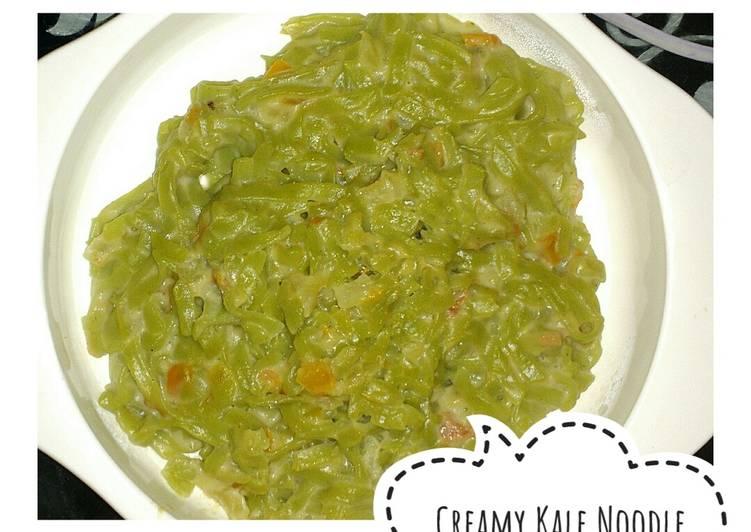 Creamy Kale Noodle (Mie Kale Ladang Lima) MPASI 1tahun