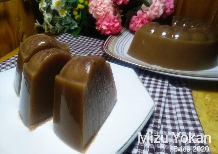 Mizu Yokan (Puding Jelly Kacang Merah)