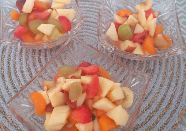 How to Prepare Super Quick Homemade Fruit chaat