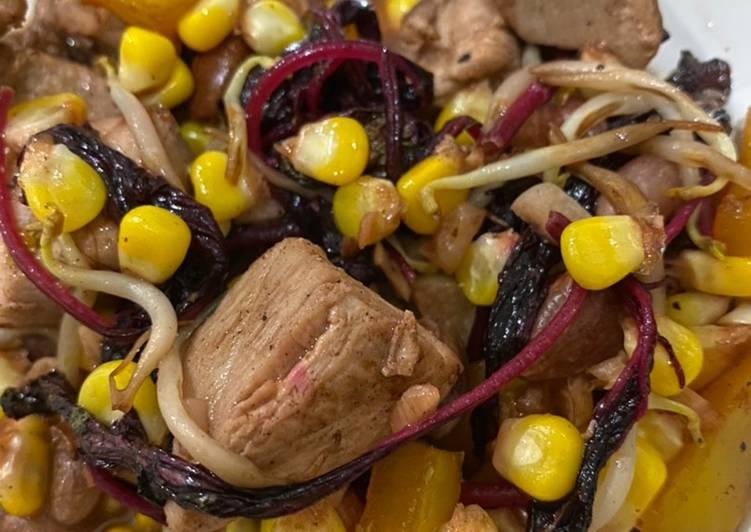 Menu Diet Simpel: Tuna Bayam dan Kacang Merah