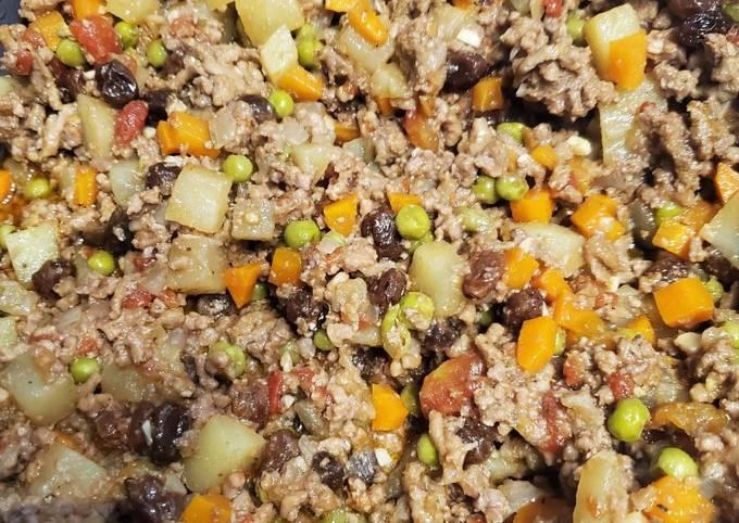 Picadillo - Ground beef