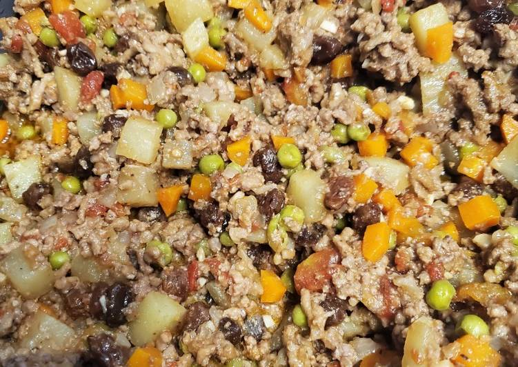 Discover How to Elevate Your Mood with Food Picadillo - Ground beef