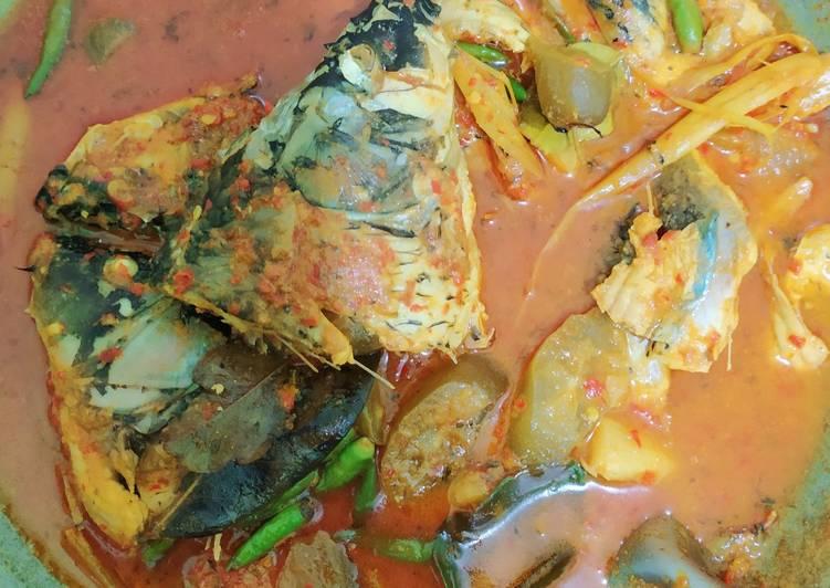 Resep Gulai ikan mas asam pedas Yang Mudah Endes