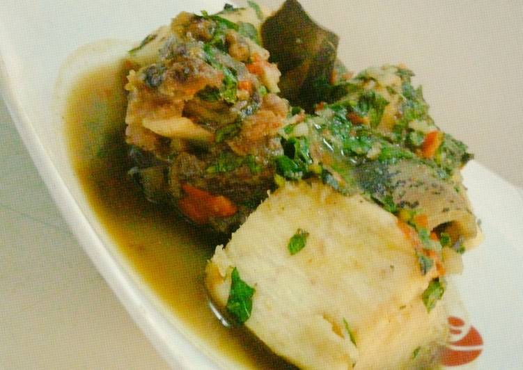 Recipe of Speedy Cow leg pepper soup and yam