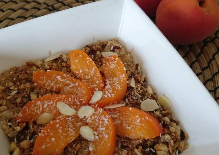 Comment Préparer Parfait Porridge cake au granolat maison
