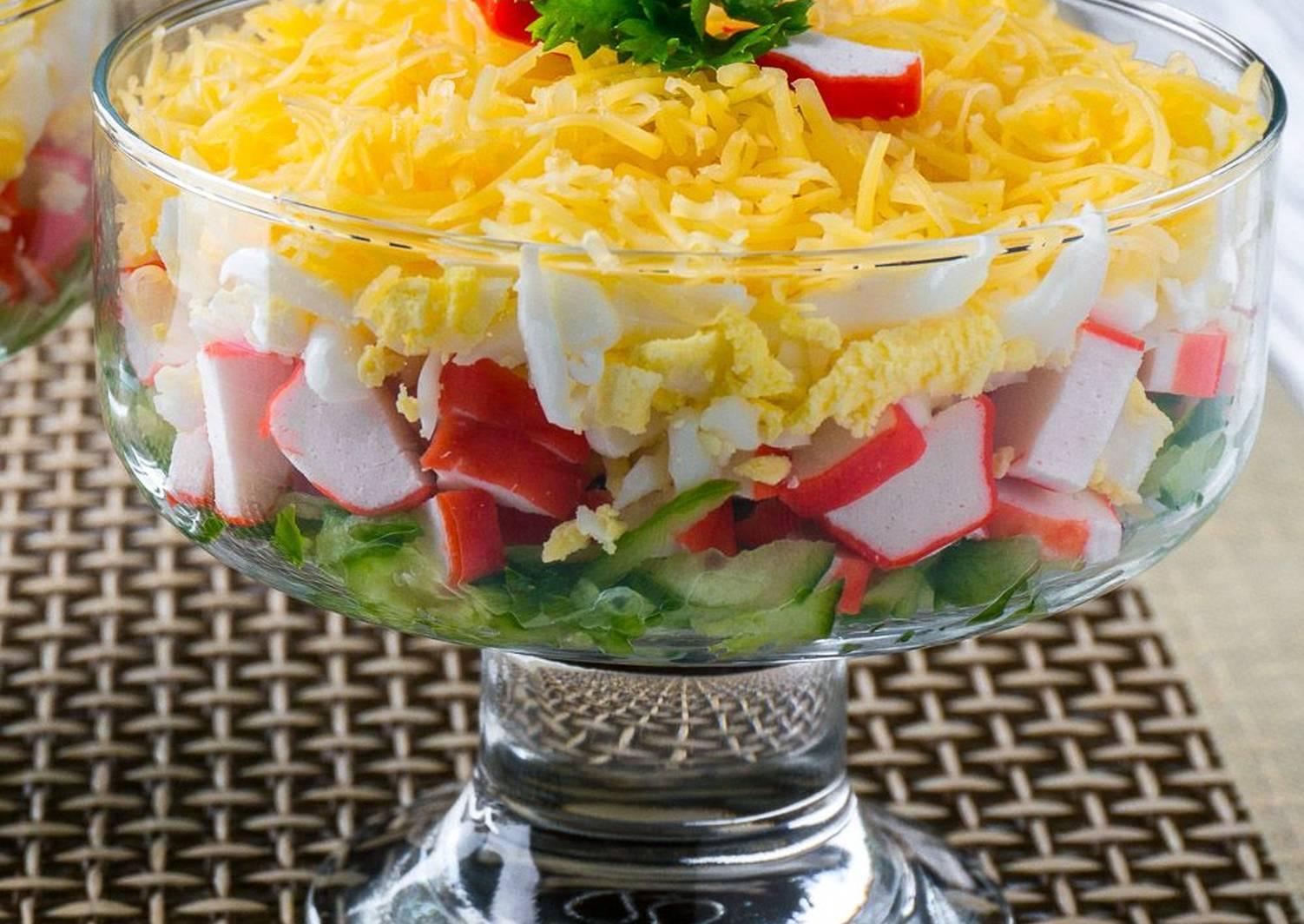 брать рецепты любимых салатов с фото главных всеми