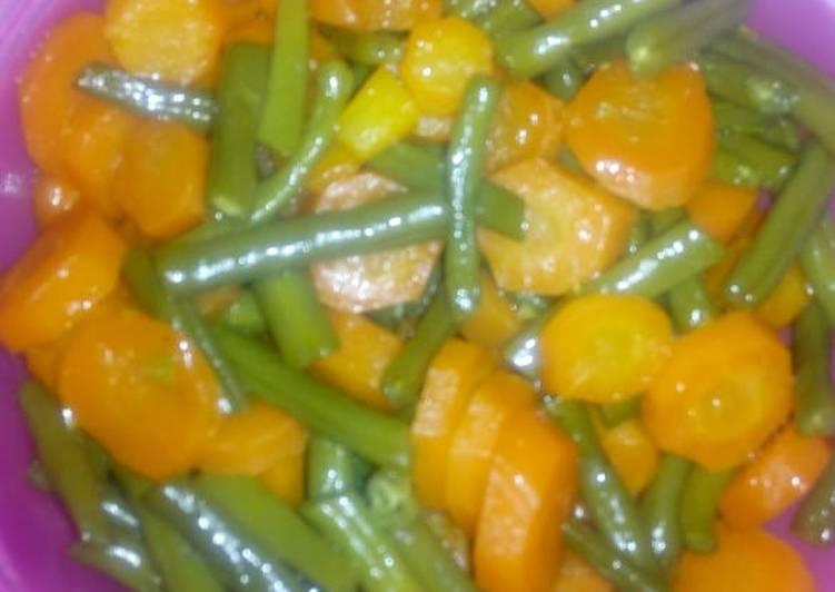 Easiest Way to Prepare Homemade Healthy vegetables