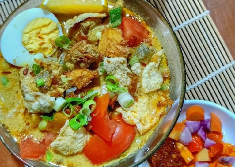 Soto Betawi Ayam Kampung (bukan daging suwir)