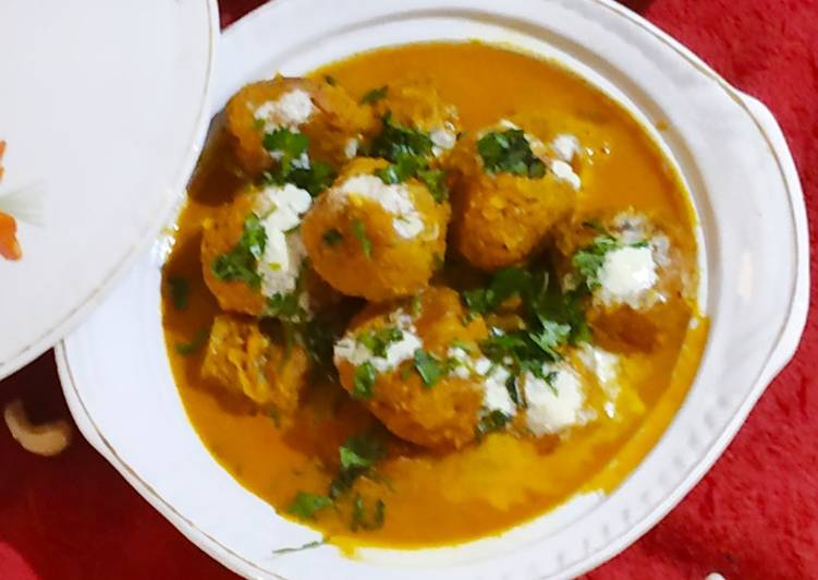 Easiest Way to Make Tasty Jackfruit kofta Curry