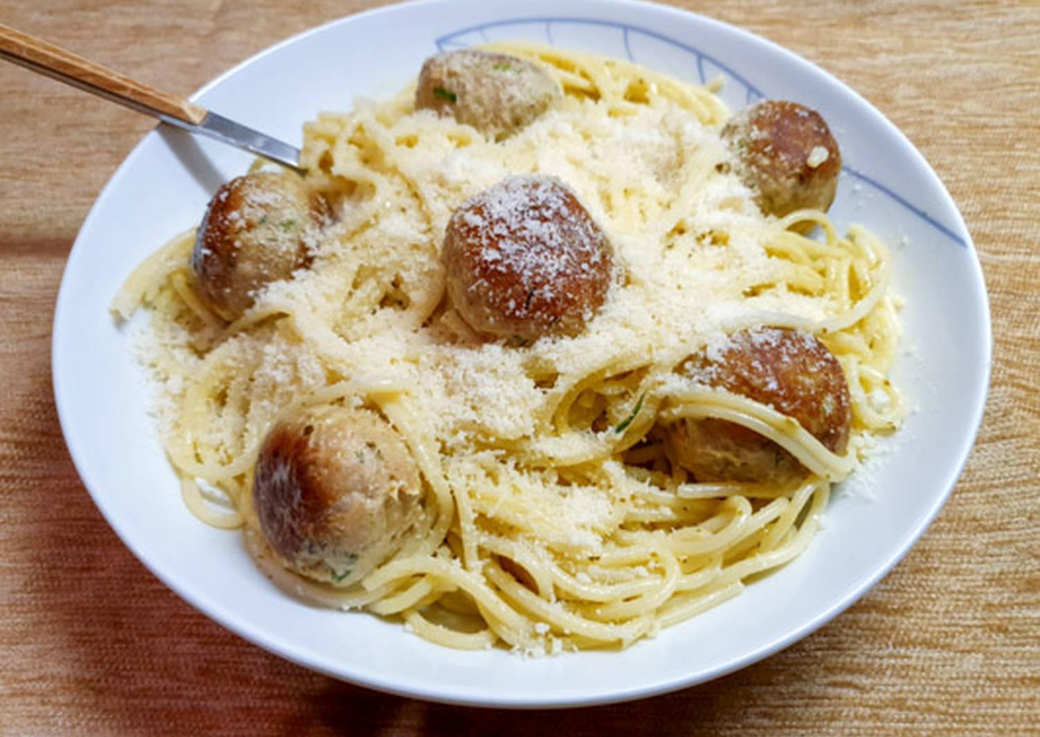 Фрикадельки к спагетти рецепт с фото