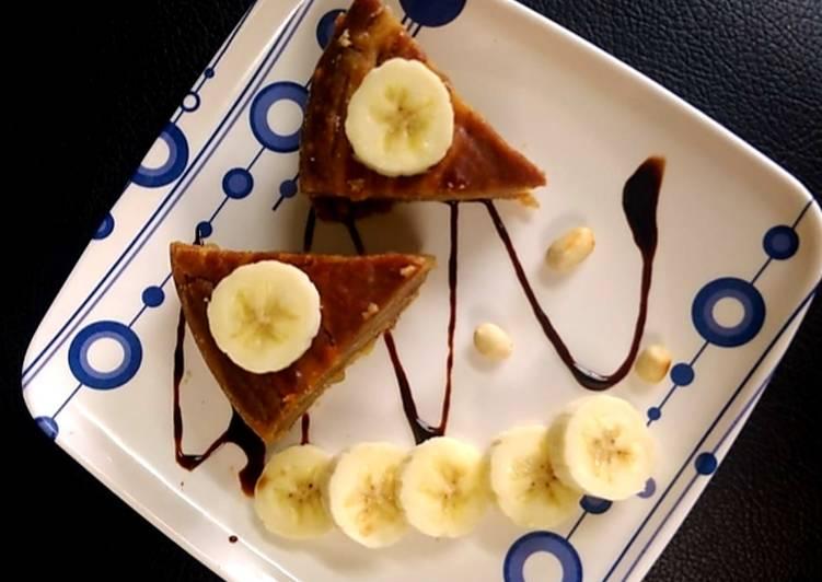 Banana & Peanut cake