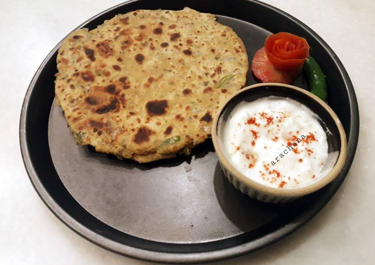 The Best Soft and Chewy Dinner Easy Royal Missi roti
