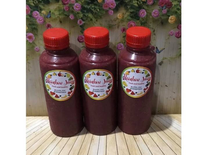 Diet Juice Gojiberry Soursop Mango Beetroot Red Lettuce