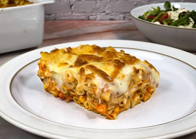 Pastitsio with Vegetables