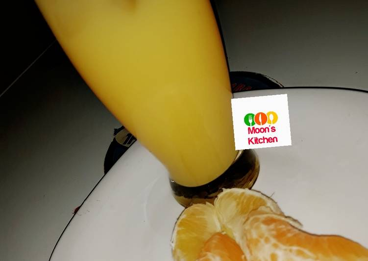 Steps to Prepare Favorite Tangerine and orange (vitamin C)