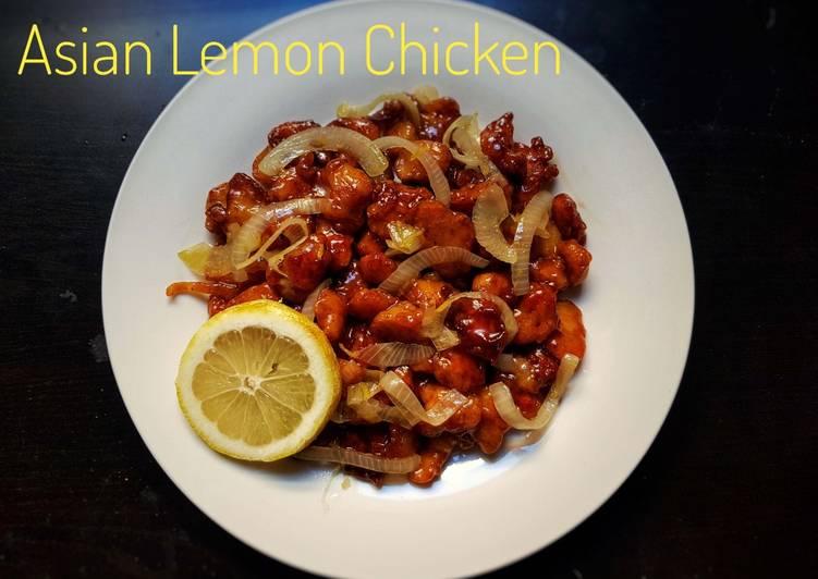 How to Make Appetizing Asian Lemon Chicken
