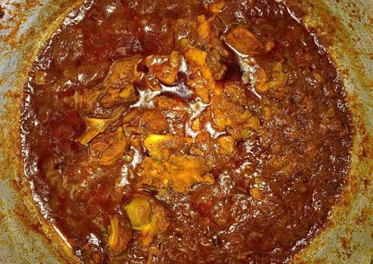 10 Minute Steps to Prepare Homemade Bhuna Gosht