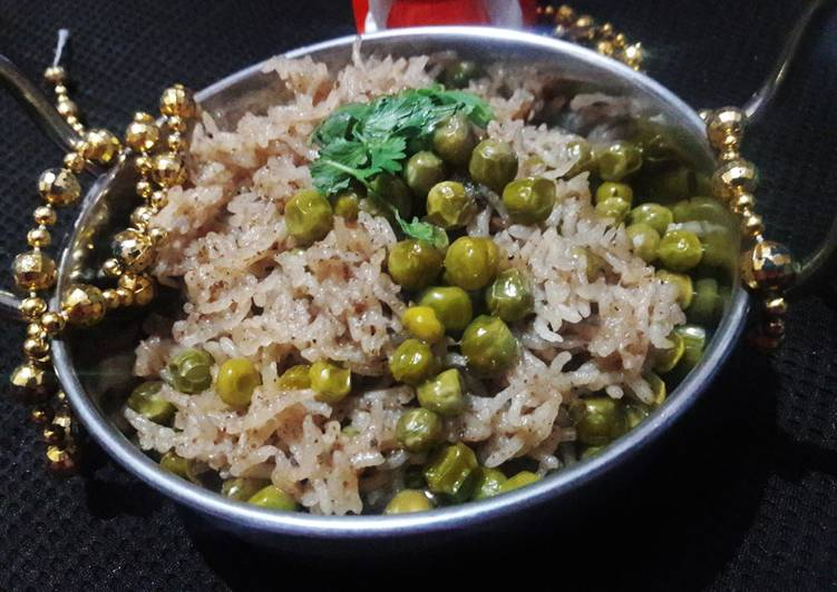 Recipe of Perfect Peas pulao