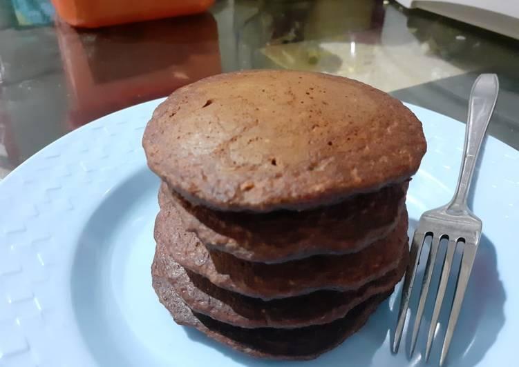 Pancake Oat Banana Choco